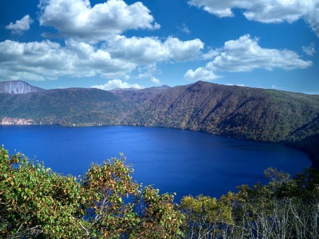 Lake Mashu first observatory
